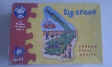 Adorable Orchard Toys 'Big Crane' Shaped Floor Puzzle Age: 3-6 years+ Boxed
